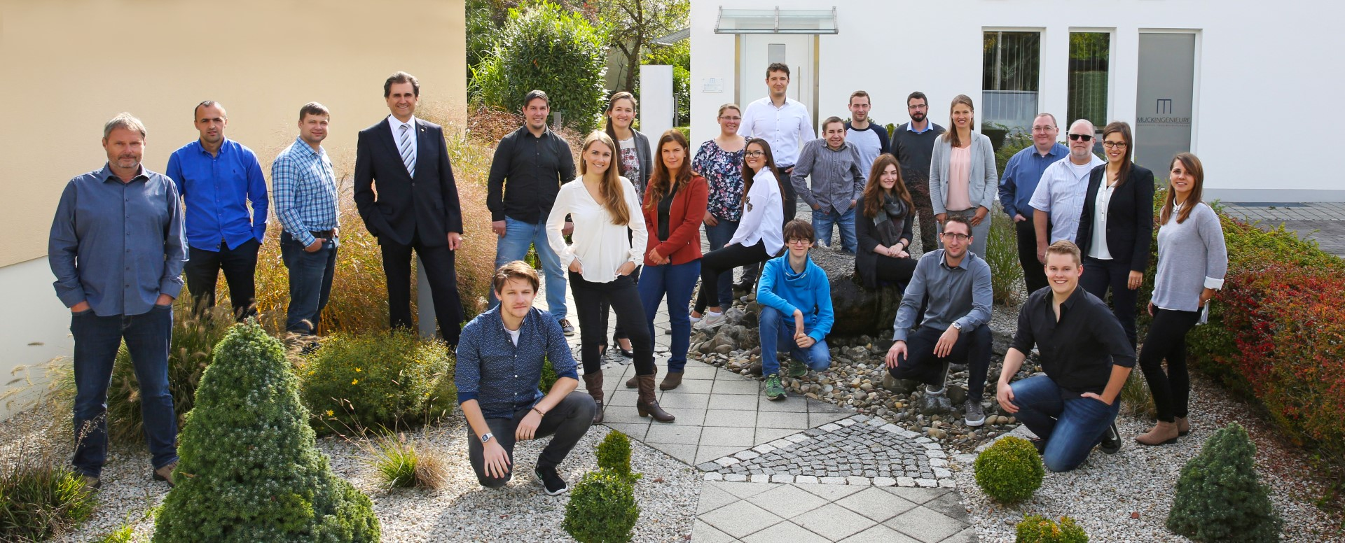 Das Team von MUCKINGENIEURE Innovative Tragwerksplanung in Ingolstadt